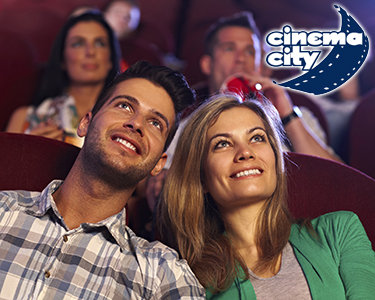 Filme & Romance a Dois | Bilhete + Pipocas | Cinema City