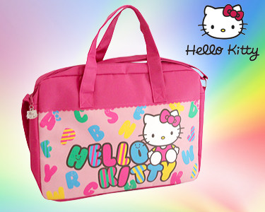 Pasta Escolar Alfabeto da Hello Kitty