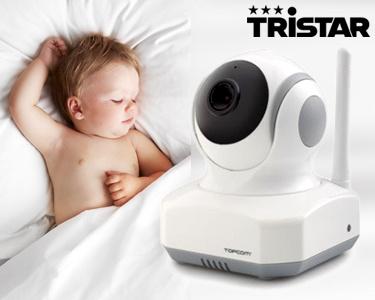 Monitor de Bebé c/ Vídeo Wi-Fi e Detector de Voz