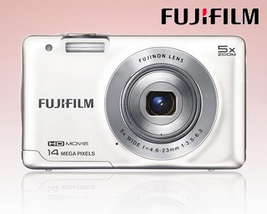 Câmara Digital Fujifilm® JX600 Branca | Resolução Óptica 14 MP
