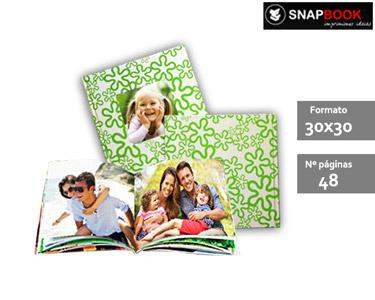 Super Preço   Fotolivro Capa Dura Green Summer 30x30 c/ 48 páginas