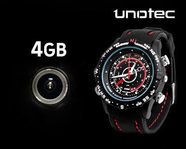 Relógio Espião com Gravação de Vídeo | 4 GB