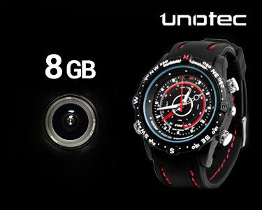 Relógio Espião com Vídeo - 4GB ou 8GB -> Escolha o modelo -> Relógio Espião com Vídeo - 8Gb