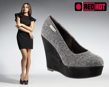 Redhot | Sapatos em Cunha Alta - Escolha o Tamanho