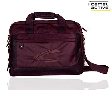 Pastas para Laptop Camel Active® | Compatível com Portátil 15' e 17'