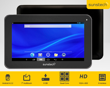 "Tablet Android 7"" Sunstech® 