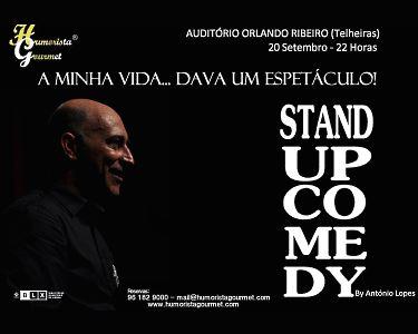 «A Minha Vida... Dava um Espectáculo!» Stand-Up Comedy! Bilhete Duplo