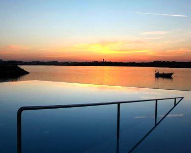 Água Hotels Riverside 4* - Noite & Jantar in Love