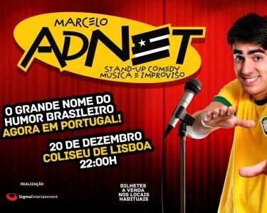 «Marcelo Adnet» | Stand Up Comedy, Música e Improviso | Lisboa