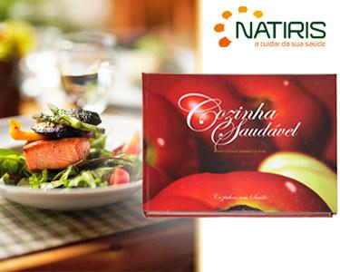 Livro Cozinha Saudável de Dra. Maria Lucinda Tavares da Silva