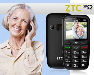 Telemóvel para Séniores | ZTC SP52 White ou Black