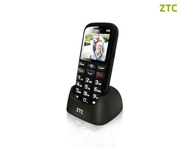 Telemóvel para S��niores | ZTC SP52 White ou Black