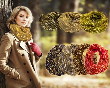 Fashion Style | Golas com Dourado - Cores à Escolha!