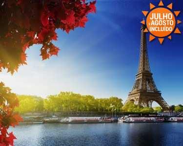 Paris | Voos + 2 ou 4 Noites em Hotel 4* + Cruzeiro no Sena