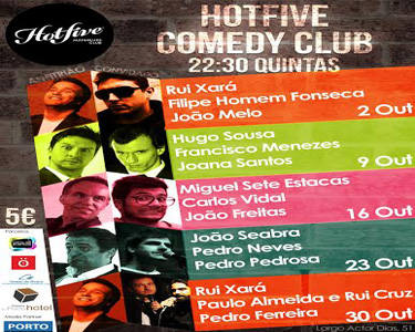 "Bilhete Duplo para o Festival ""Stand-Up Comedy"" 