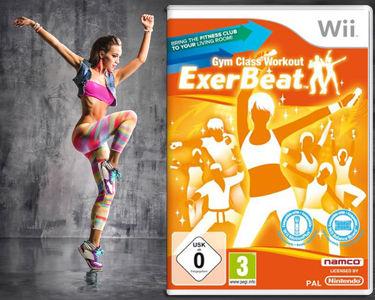 Jogo para Wii Exerbeat - Gym Class Workout - Ganhe Forma em sua Casa!