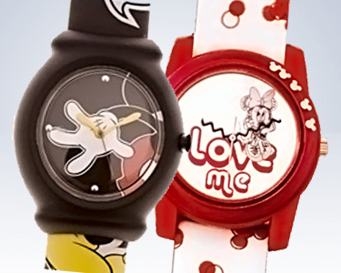 Relógio Mickey Ou Minnie | Escolha o Modelo