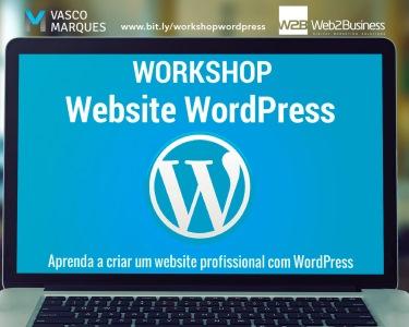 Workshop Online | Criação de Websites Profissionais c/ Wordpress | 3h