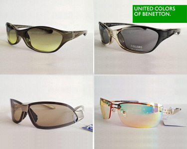 Óculos de Sol da Benetton® | 9 Modelos Unissexo à Escolha