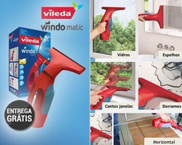Lançamento Exclusivo » Aspirador de Vidros WindoMatic Vileda® - Entrega Gratuita (Continente)