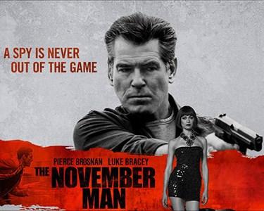 «November Man» c/ Pierce Brosnan | Bilhete + Pipocas | Cinema City