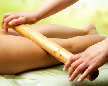 Massagem Oriental com Canas de Bambu   1 Hora   Estoril