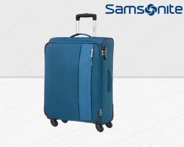 Mala de Viagem Samsonite® DayTrip | Spinner Azul | 66 cm