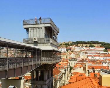 Bella Lisa Elevador | Almoço sobre Lisboa - Chiado