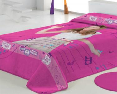 Cobertor 160x240 «Violetta» | A adoração das mais pequenas!