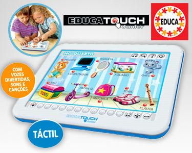 Tablet Didáctico para Crianças com Voz | Escolha Inglês ou Abecedário
