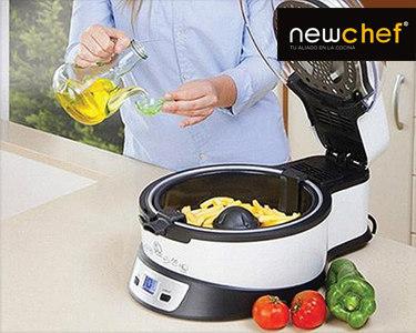 Fritadeira Sem óleo Multifunções NewChef® | Cozinha Saudável