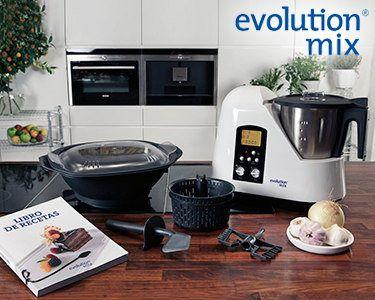 Robot de Cozinha Evolution Mix® | Um Grande Chefe na Sua Cozinha