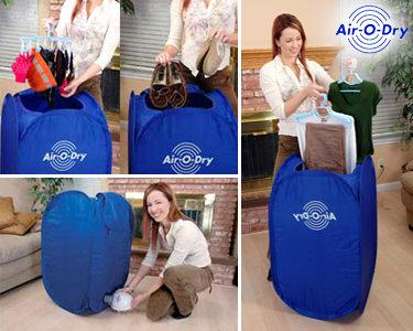 Máquina de Secar Roupa  Air-o-Dry   Rápida & Eficaz