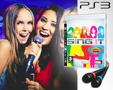 Karaoke Sing It High School Musical 3 + 2 Microfones | PlayStation 3