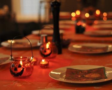 Jantar de Halloween a Dois   Delícias Arrepiantes
