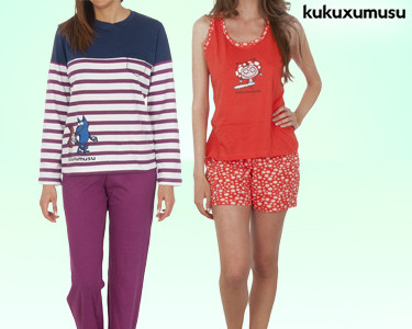 Pijama de Mulher Kukuxumusu®   Escolha o seu