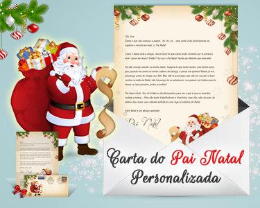 Carta Personalizada do Pai Natal | Directamente da Lapónia!