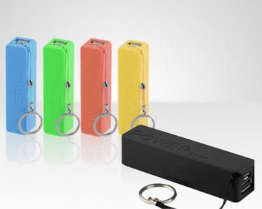 Porta-chaves com Bateria Recarregável | Powerbank 2600 mAh