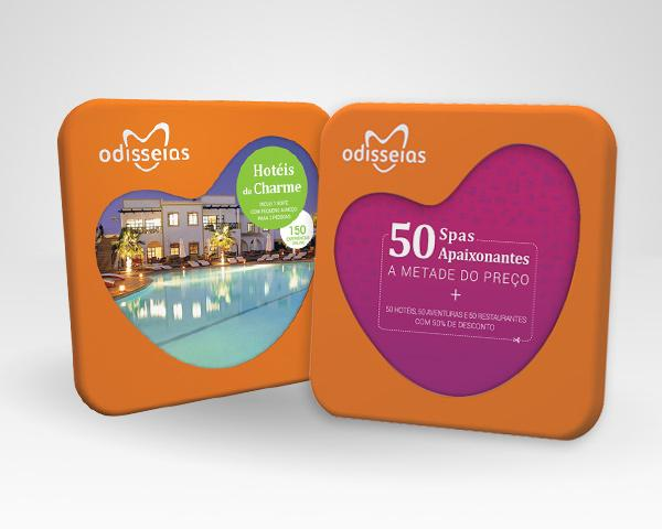 2 Presentes: Hotéis de Charme + 50 Spas a Metade do Preço
