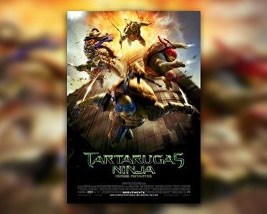 «Tartarugas Ninja - Heróis Mutantes» no Cinema City! Bilhete & Pipocas
