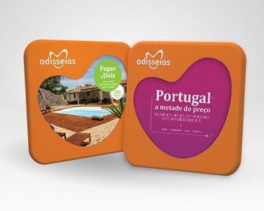 2 Presentes: Fugas a Dois + Portugal Metade do Preço