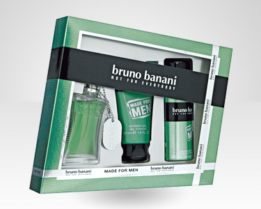 Coffret Bruno Banani - Perfume, Gel Banho e Deo | Made For Men