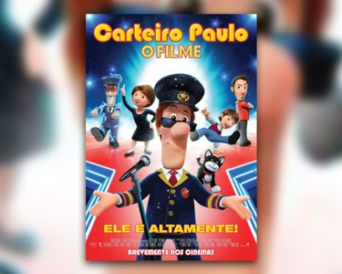 «Carteiro Paulo» no Cinema City | Bilhete & Pipocas