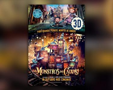 Cinema City | «Monstros das Caixas» - Bilhete & Pipocas