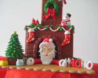Workshop Especial de Cake Design 6h | Bolo de Natal - 06 Dezembro