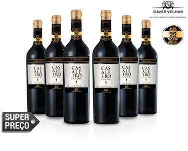 6 Garrafas de Vinho Tinto Casaleiro Reserva 2012 | Best Buy