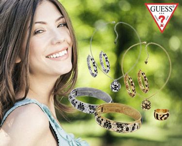 Jóias Guess® Serpente | Colar, Brincos, Pulseira ou Anel