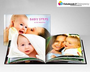 Álbum Digital 24 Páginas | Capa Dura e Personalizada 20 x 15cm