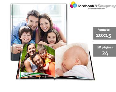 Álbum Fotográfico 24 Páginas   Capa Dura e Personalizada