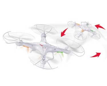 Super Drone Telecomandado 31 cm | Resistente e Versátil
